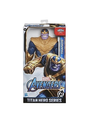 Hasbro Marvel Avengers Titan Hero Thanos Özel Figür Renkli